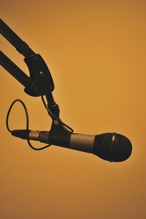 Microphone isolatedMicrophone