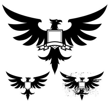 silhouette aquila: Aquila Nera