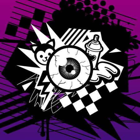 dreadful: In Your Eye Illustration