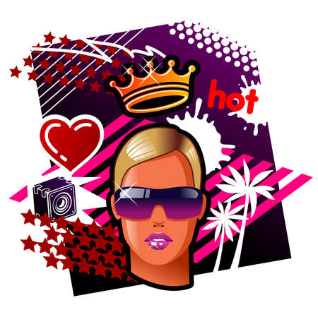 Queen Of The Rave Stock Vector - 2087410