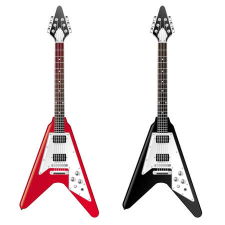 Gibson Faded Flying V Illustration