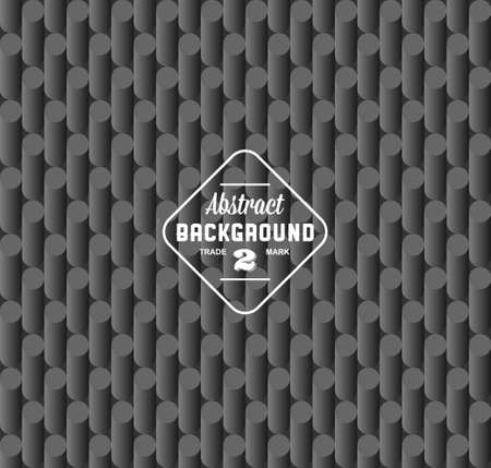 seamless geometric background with label Vector