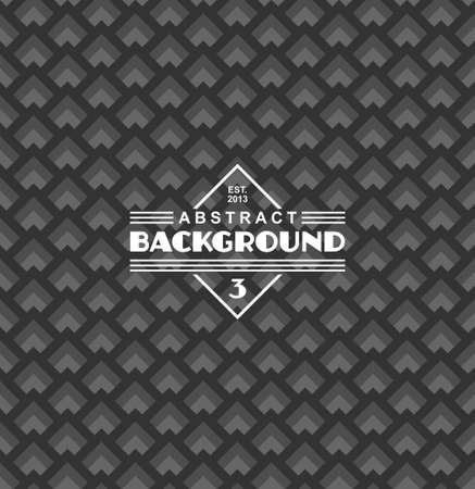 art deco background: seamless art deco background with label Illustration