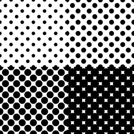 black dots: seamless background with black dots