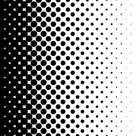 Gradiënt naadloze achtergrond met zwarte stippen Stockfoto - 31729729