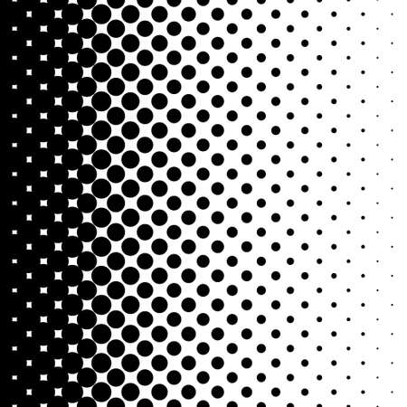 gradient seamless background with black dots Banco de Imagens - 31729729