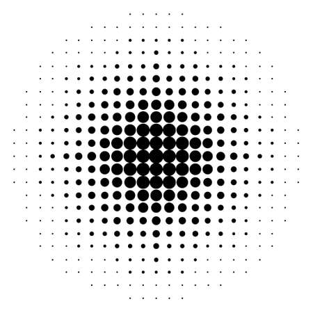 black dots: gradient seamless background with black dots