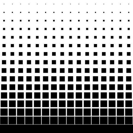 gradiënt naadloze achtergrond met zwart vierkant Stock Illustratie