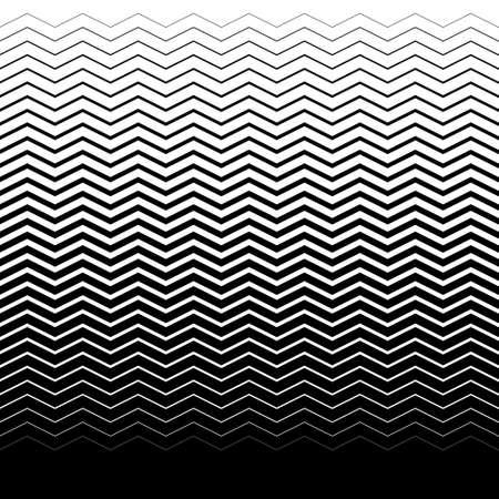 fondo geometrico: de fondo sin fisuras del gradiente con olas negras Vectores