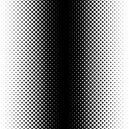 gradiënt naadloze achtergrond met zwarte stippen Stock Illustratie
