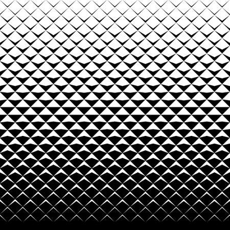 vector tiles pattern. abstract gradient op art seamless monochrome background with rhombus