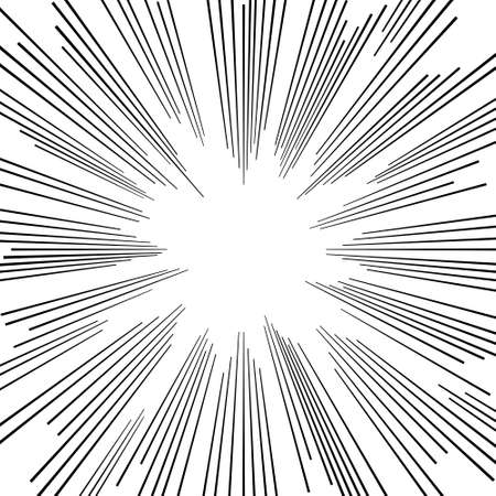 background vector  monochrome comic book explosion with star burst