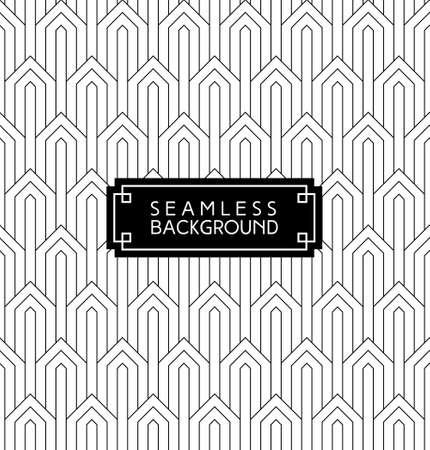 papel tapiz: arte deco sin fisuras en blanco y negro árabe fondo de pantalla o fondo blanco y negro con la etiqueta o tarjeta de identificación inconformista