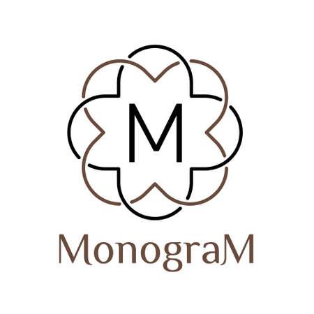 art deco classic luxury linear monochrome golden minimal hipster geometric vintage vector monogram, frame, border, label,   badge, crest for club, bar, cafe, restaurant, hotel, boutique
