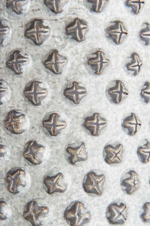 metal grater: Old Metal grater background Stock Photo