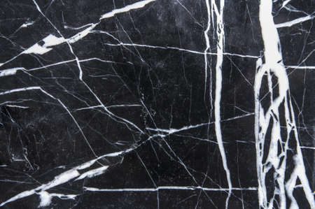 Black marble natural pattern for background, abstract natural marble black and white for design. Фото со стока - 48828158