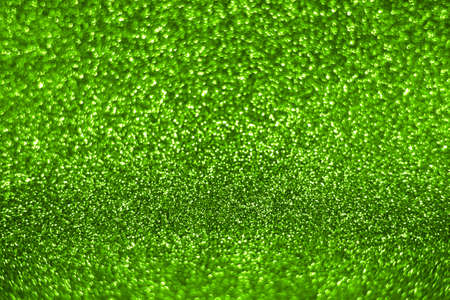 Bright sparkle green background. Holiday and festive concept. New year, Christmas, Wedding Day, Birthday. Stock fotó