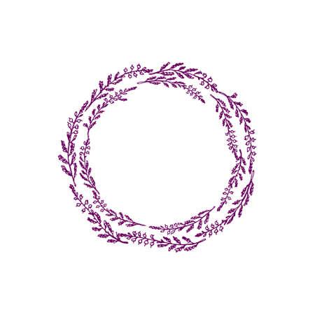 Hand gezeichnet Heidekranz