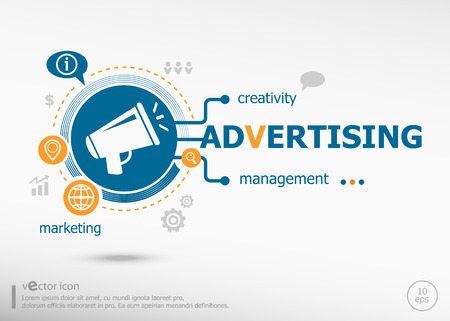 preference: Advertising and marketing concept. Project for web banner and creative process.