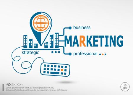 Estrategia de marketing y concepto de marketing. Concepto de marketing para el desarrollo de aplicaciones, proceso creativo.
