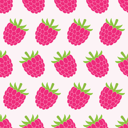 raspberry pink: Seamless raspberry pattern. For cards, invitations, wedding or baby shower albums, backgrounds, wallpapers, arts and scrapbooks. Illustration