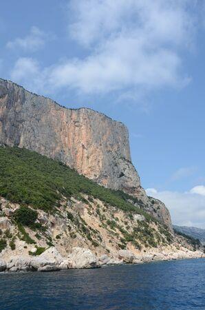 mediterraneo: ogliastra cliffs Stock Photo