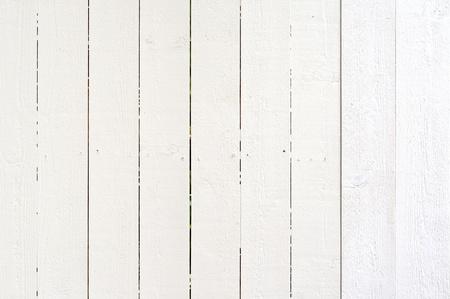 cerca blanca: De madera de fondo blanco