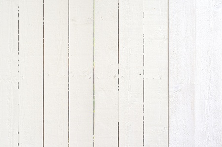 picket fence: White wooden background