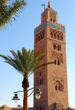 Moskee van Koutoubia, Marrakech, Morocko