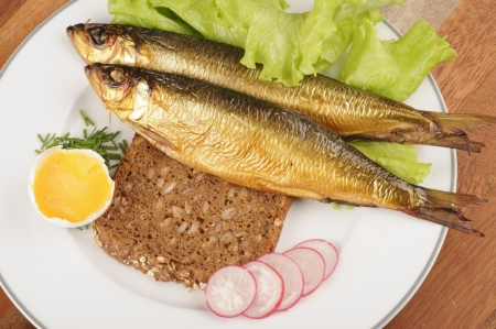 Ingrediënten voor Deense smorrebrod - Sol in Gudhjem