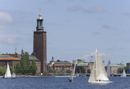 Sailing in Stockholm