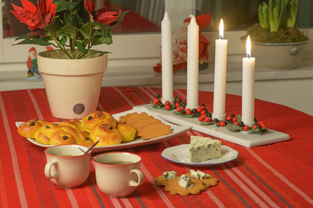 Swedish Advent celebration Stock Photo - 26081963