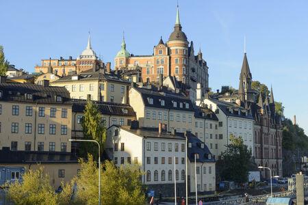 Gebouwen op Mariaberget, Södermalm, Stockholm