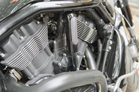 Power - motorbike engine Stock Photo