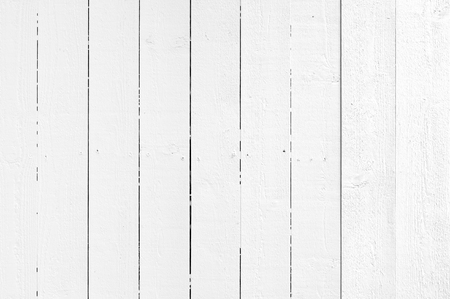 Whited painted plank