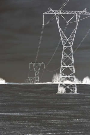 isolators: pylons for the winter
