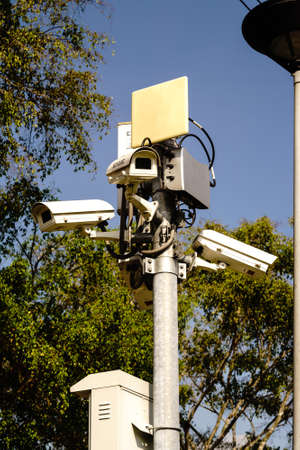 ip camera: Security cctv cameras with outdoor Wifi Transmission