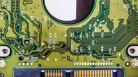 cs: circuit harddisk board background