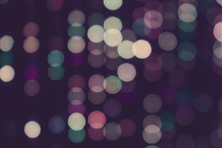 Blurred lights with bokeh effect vintage retro tone background, Abstract vintage retro blur bokeh texture background.