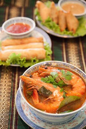favorite soup: Tom Yam Kung  Thai cuisine