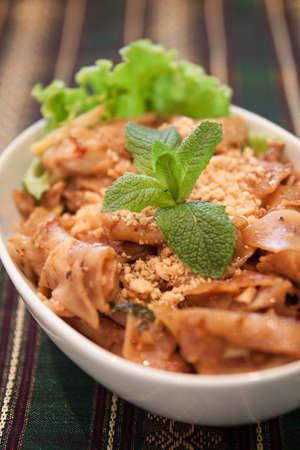 se: Pad Se Eew Thai food Stock Photo