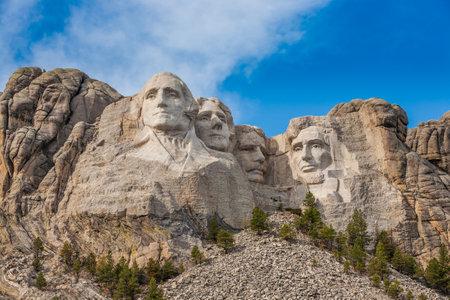 mount rushmore: Mount Rushmore National Monument in South Dakota