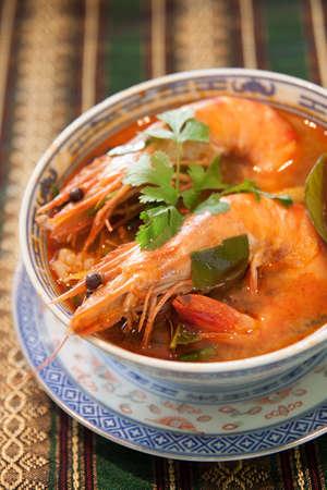 favorite soup: Tom Yam Kung (Thai cuisine)