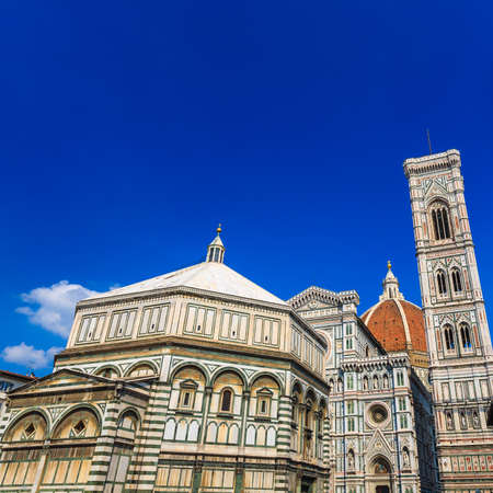 Piazza del Duomo in Florence Italy photo