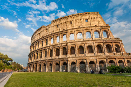 Famous Colosseum in Rome, Italy photo