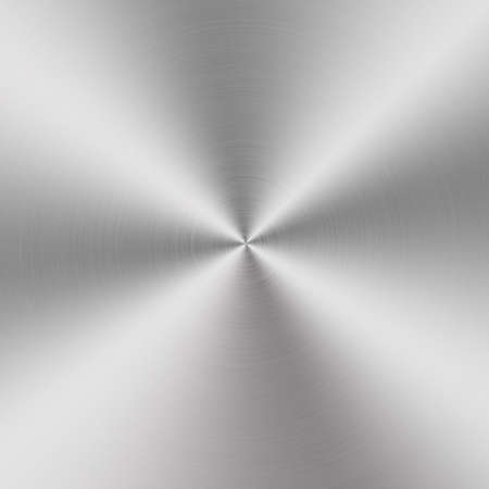 circular brushed aluminum texture photo