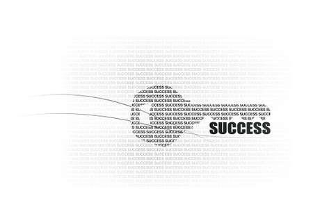 key words art: key success factors text on key graphic