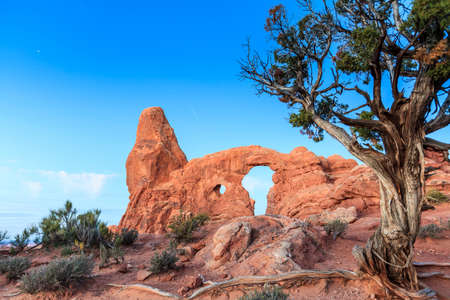 Turret Arch in Arches National Park Stock Photo - 27123467