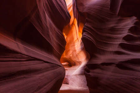 slot canyon: Antelope Canyon in Page, AZ USA Stock Photo