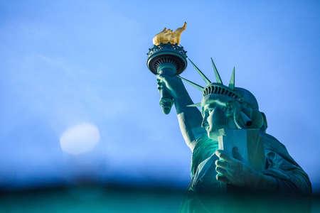 Statue de la Liberté, à New York Banque d'images